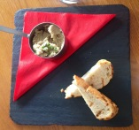 Baba ganoush with chargrilled bread