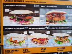 The Real Cheeseburger - ultimate cheeseburger menu