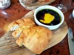 Focaccia, Blodyn Aur oil, balsamic vinegar